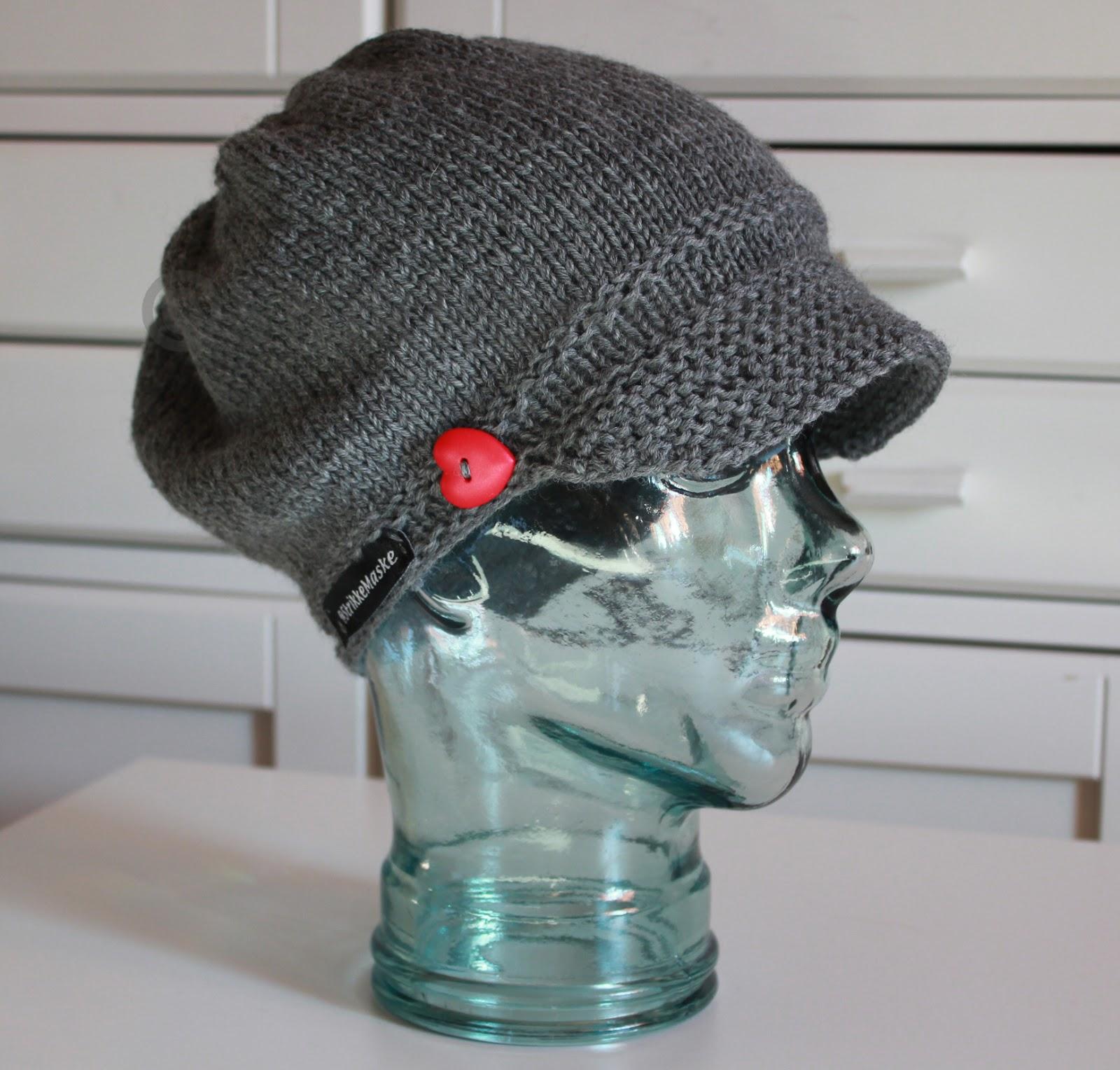 Bølle hatt - strikka lue