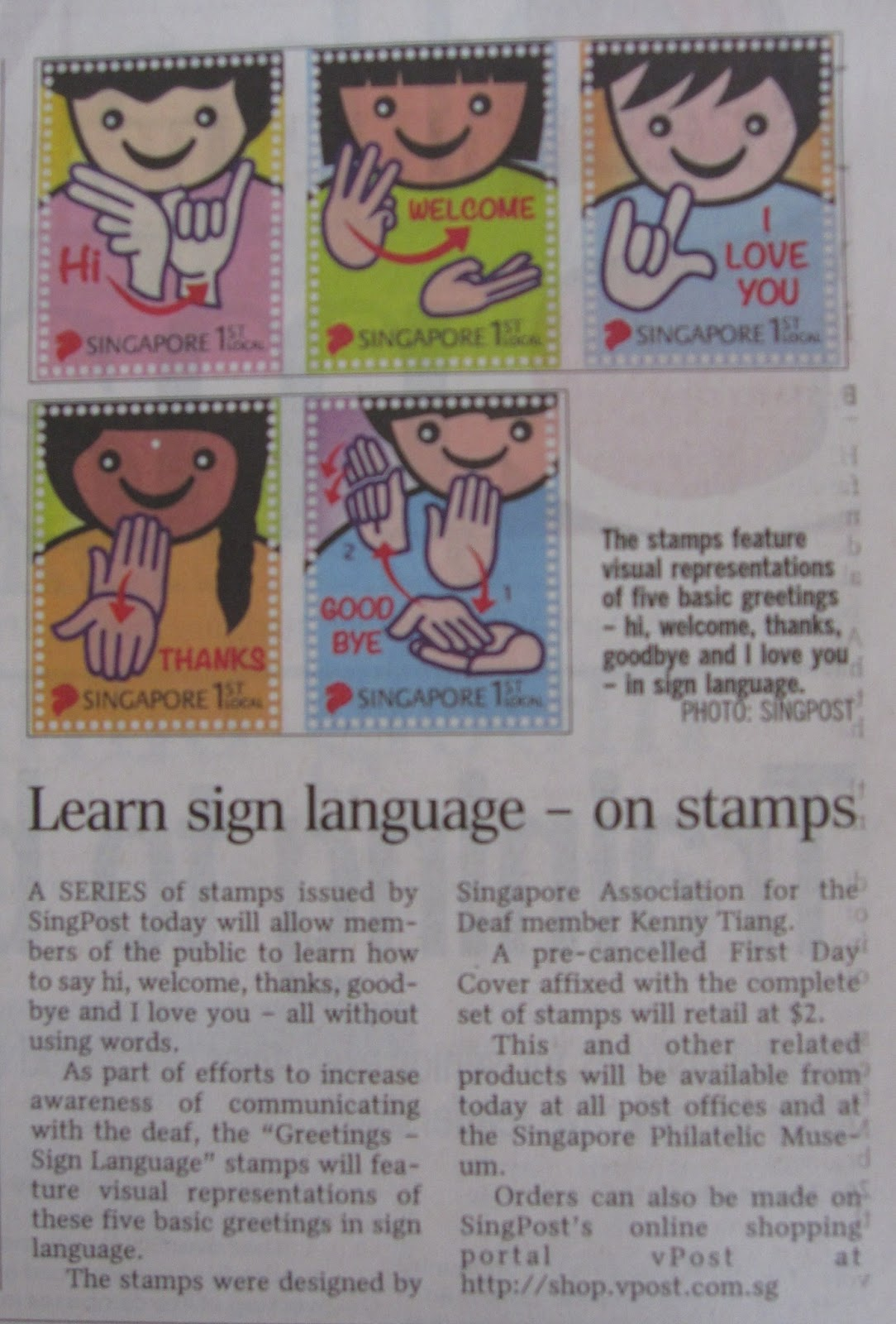 We Cant Understand Each Other Use Stamps To Learn Sign Language