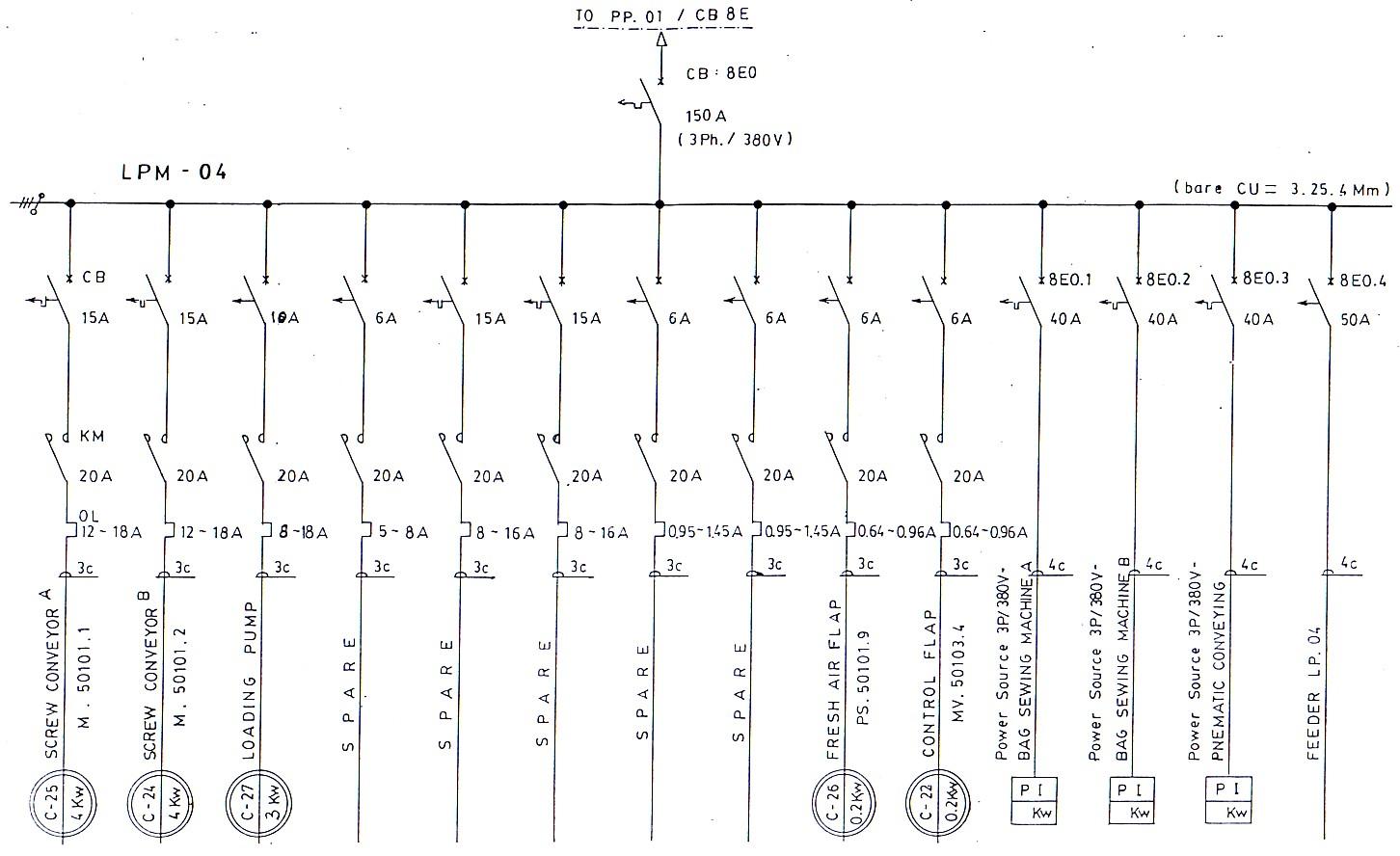Wiring Diagram Instalasi Listrik : Electrical wiring diagram free download schematic