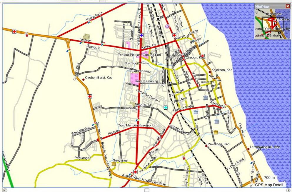 Peta Kota: Peta Kota Cirebon