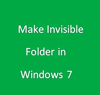 How To Hide A Folder in Windows 7 Without Any Software?