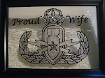 Proud EOD wife on glass