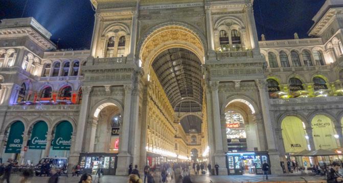 Galleria Vittorio Emanuele II Mailand
