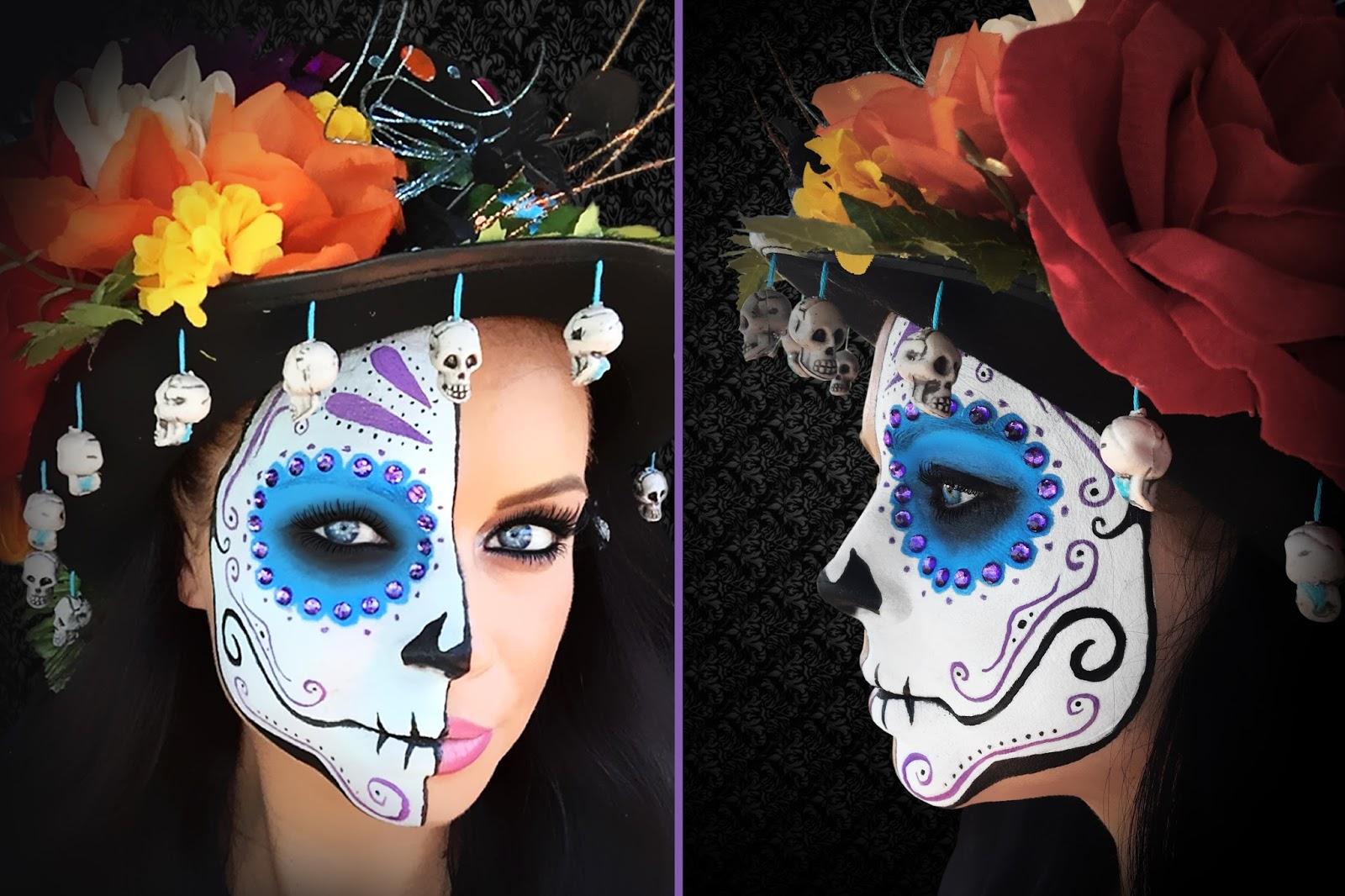 Dia De Los Muertos Makeup - Part Two