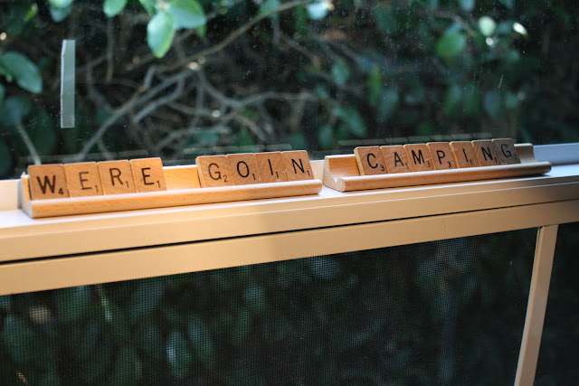 scrabble trailer words, scrabble decor, vintage decor