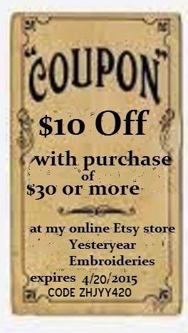A WEEKEND COUPON SALE FOR YOU