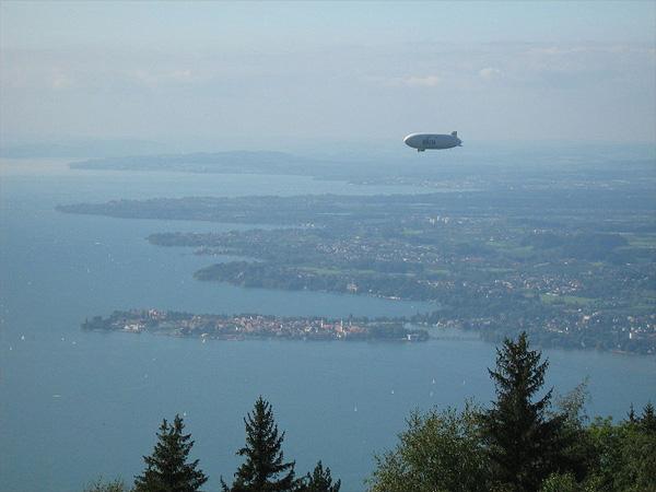 Der Bodensee von Österreich aus