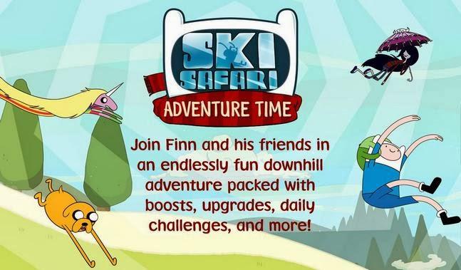 Ski Safari: Adventure Time android apk - Screenshoot