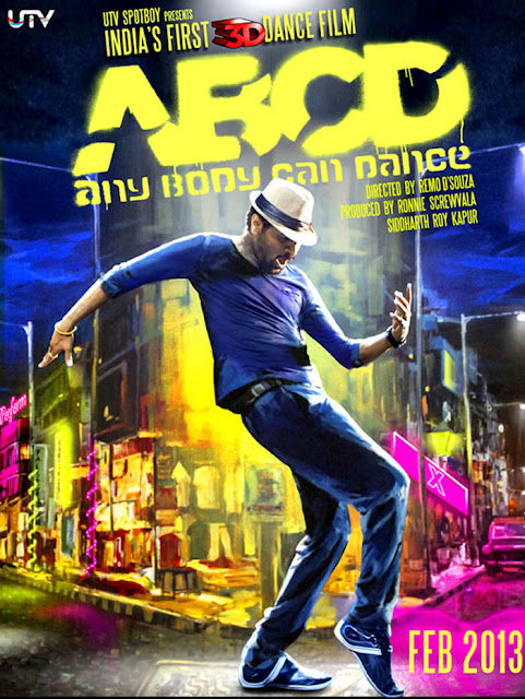 ABCD Any Body Can Dance Song Download Poster