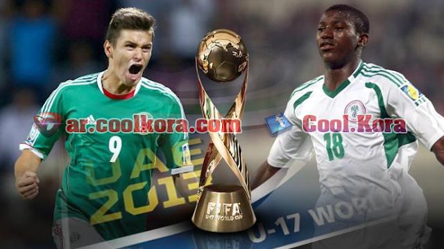 مشاهدة مباراة نيجيريا والمكسيك بث مباشر 8-11-2013 نهائي كأس العالم للناشئين Nigeria vs Mexico