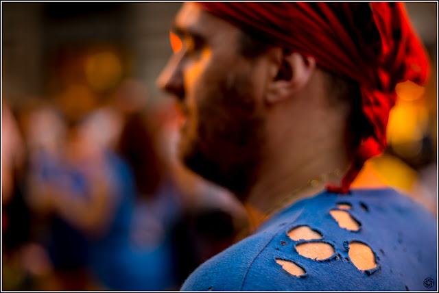 Correfoc con Gabriel Brau - Mercè 2012: Preparativos del correfoc