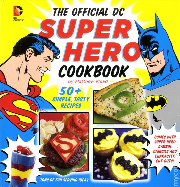 The Official DC Super Hero Cookbook - book review **Turnip Girl Approved** #comicgeek