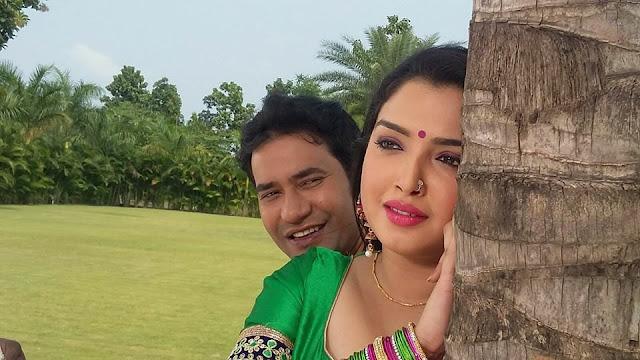 Nirahua, Amrapali, Kajal Film 'Aashiq Aawara' Background Music has started