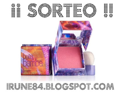 Sorteo colorete Benefit!