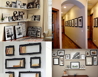 DIY: How to decorate with picture frames