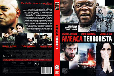 Ameaça Terrorista DVD Capa