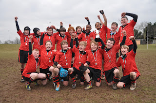 U12 County Rugby Victors