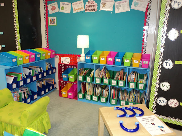 Classroom Decorations For Grade 7 ~ Fab and fun in th classroom library inspiration