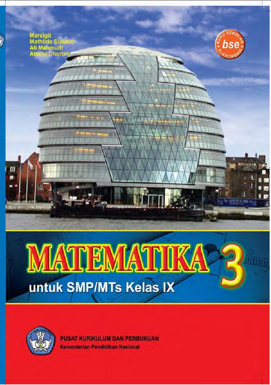 Matematika 3 untuk SMP/MTs Kelas IX