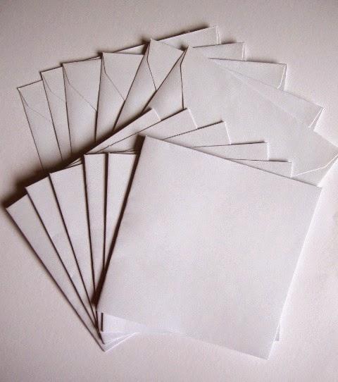 6 tarjetas y sobres TIGER