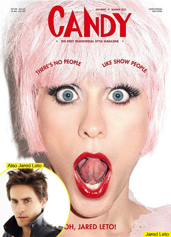 jared leto dressed as transexual