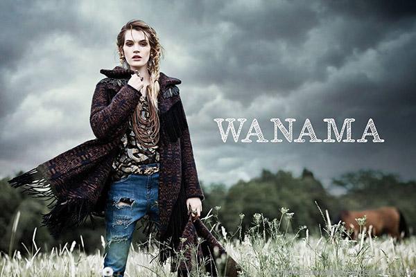 Wanama Jeans y abrigos otoño inverno 2015 moda invierno 2015.