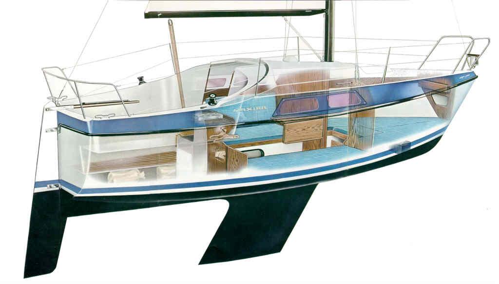 bermudarigget sejlbåd