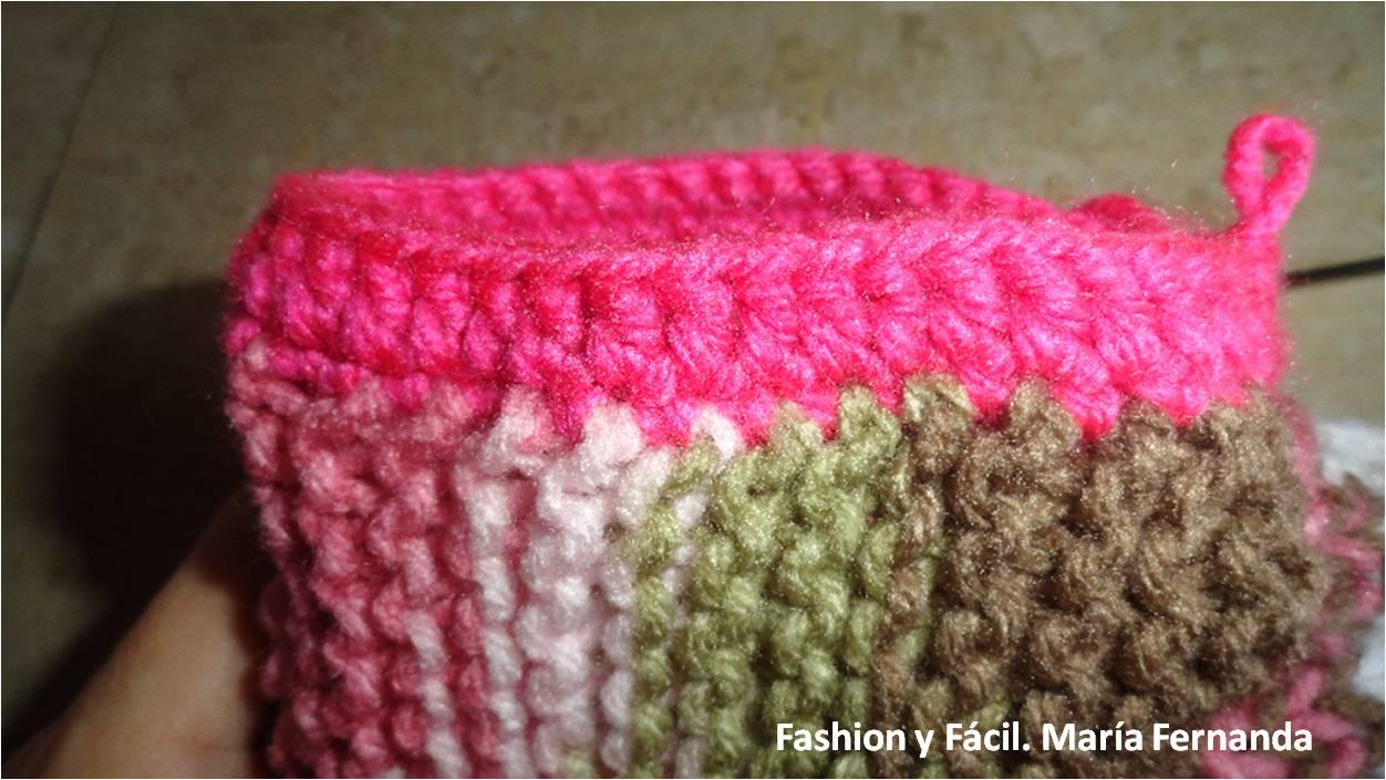 Fashion y Fácil : Botas slippers tejidas a dos agujas y ganchillo ...