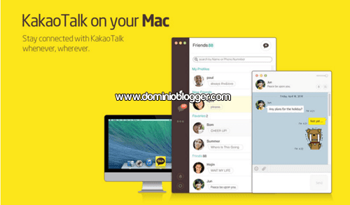 KakaoTalk para Mac gratis