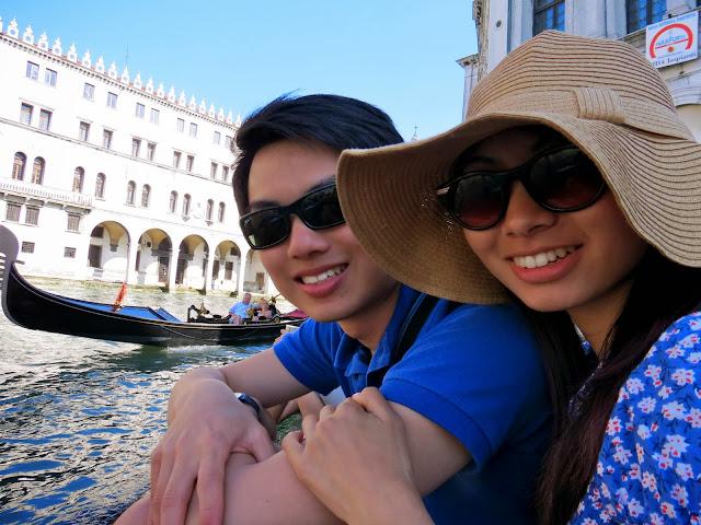 Venice canal couple