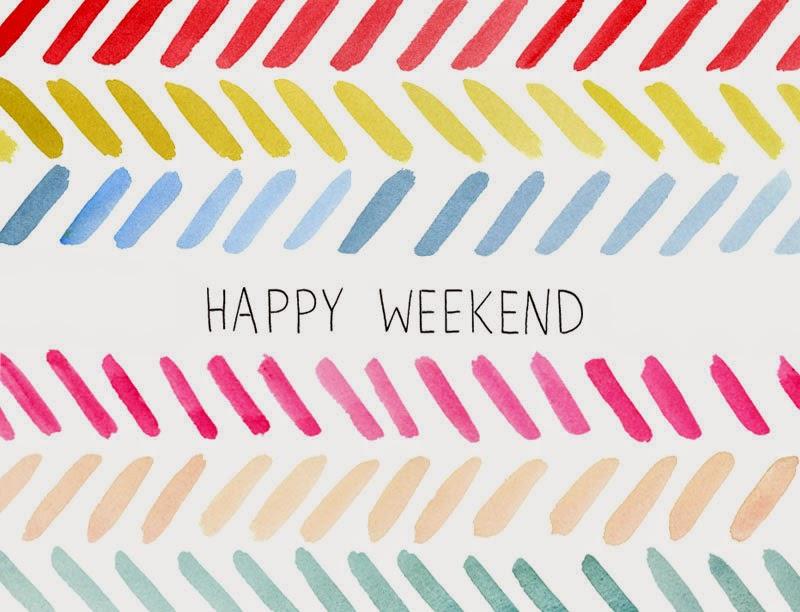 Happy Weekend, part 1