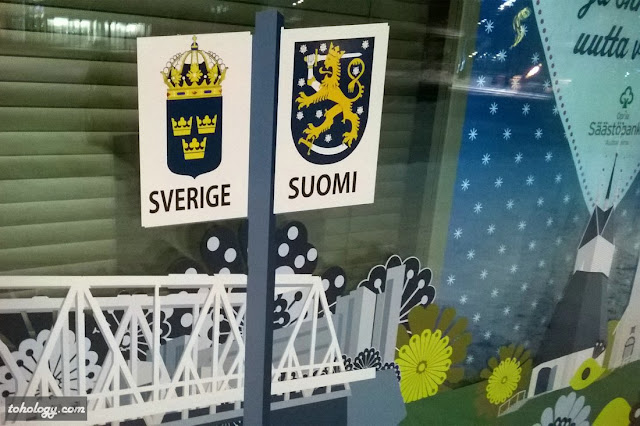 Finland-Sweden coats of arms