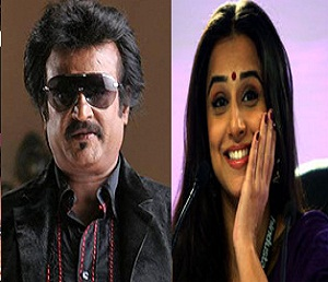 Rajni is to pair up with 'Dirty picture' Balan