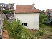 extension dans les Yvelines au Chesnay avec revêtement en Red . maison en bois yvelines