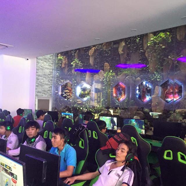 Lắp đặt phòng net trọn gói tại Ninh Thuận