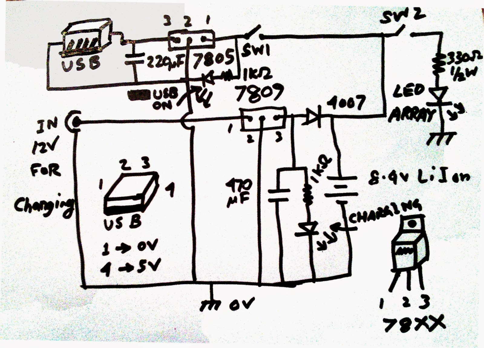 Scavengers Blog 2014 16 W Amplifier By Lm383 As You Can See Very Simple Diagram With Only A Few Components I Will Explain The Whole Circuit Step Lets Start Input Section
