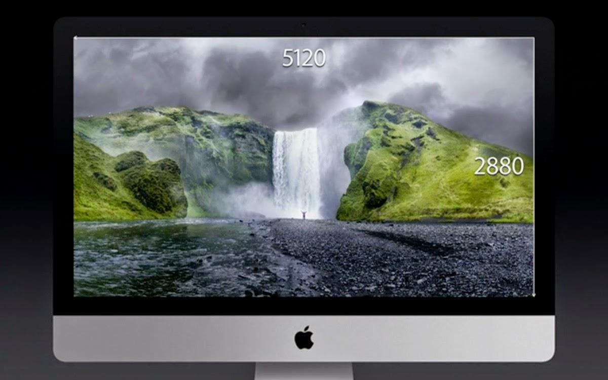 Anche per l'iMac arriva il pannello Retina, con una risoluzione mai vista, superiore al 4K!