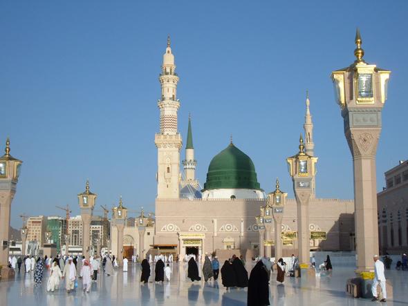 tempat ziarah di madinah masjid nabawi