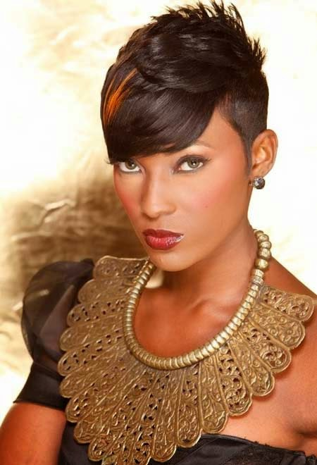 Short hairstyles for black women 2015  blackhairstyles