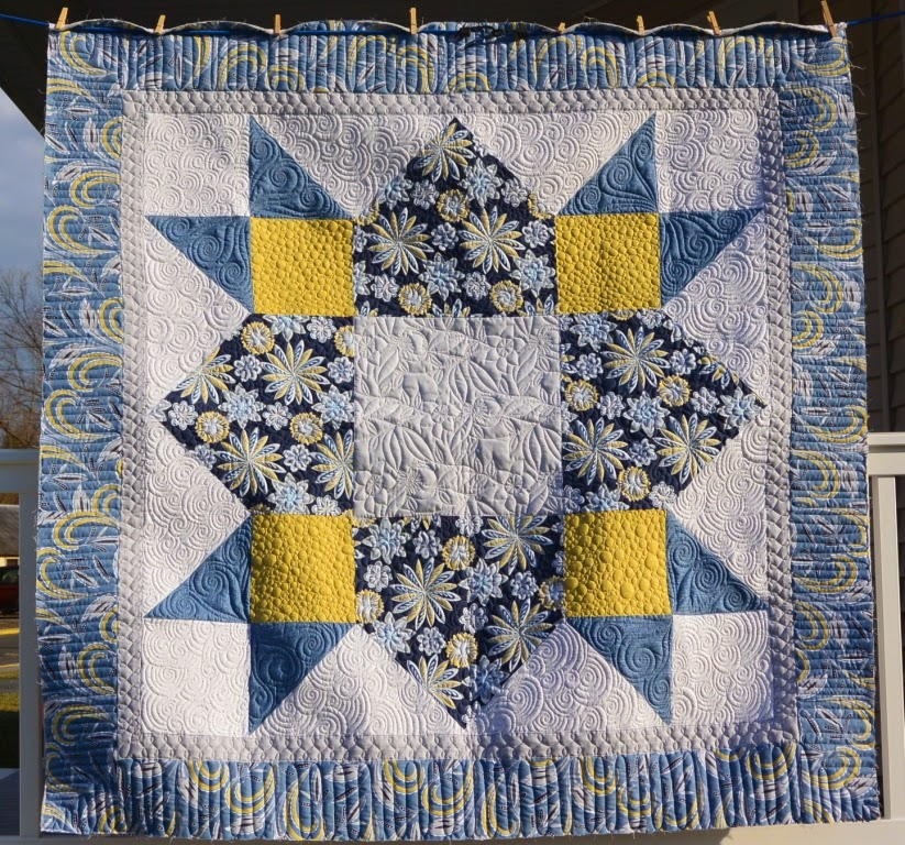 Quilt Vine: New Pattern and Sample
