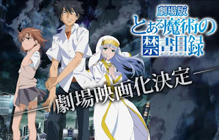 Toaru Majutsu Index gekijouban movie anuncio