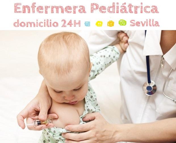 Enfermera pediátrica a domicilio en Sevilla