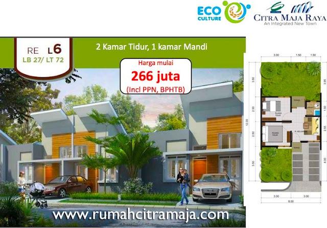 Rumah RE Citra Maja Raya Tipe L6