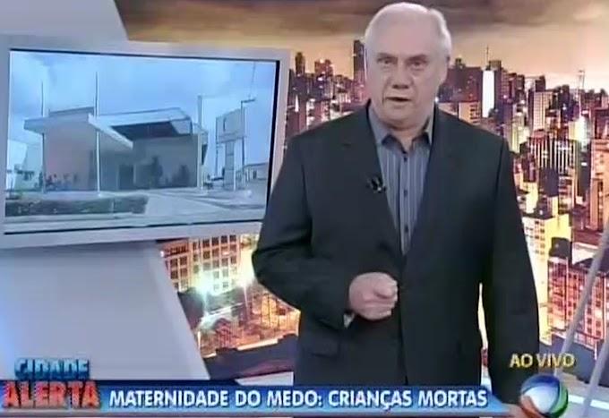 """Marcelo Resende adjetivou a maternidade de Caxias como """"MATERNIDADE DO MEDO"""""""