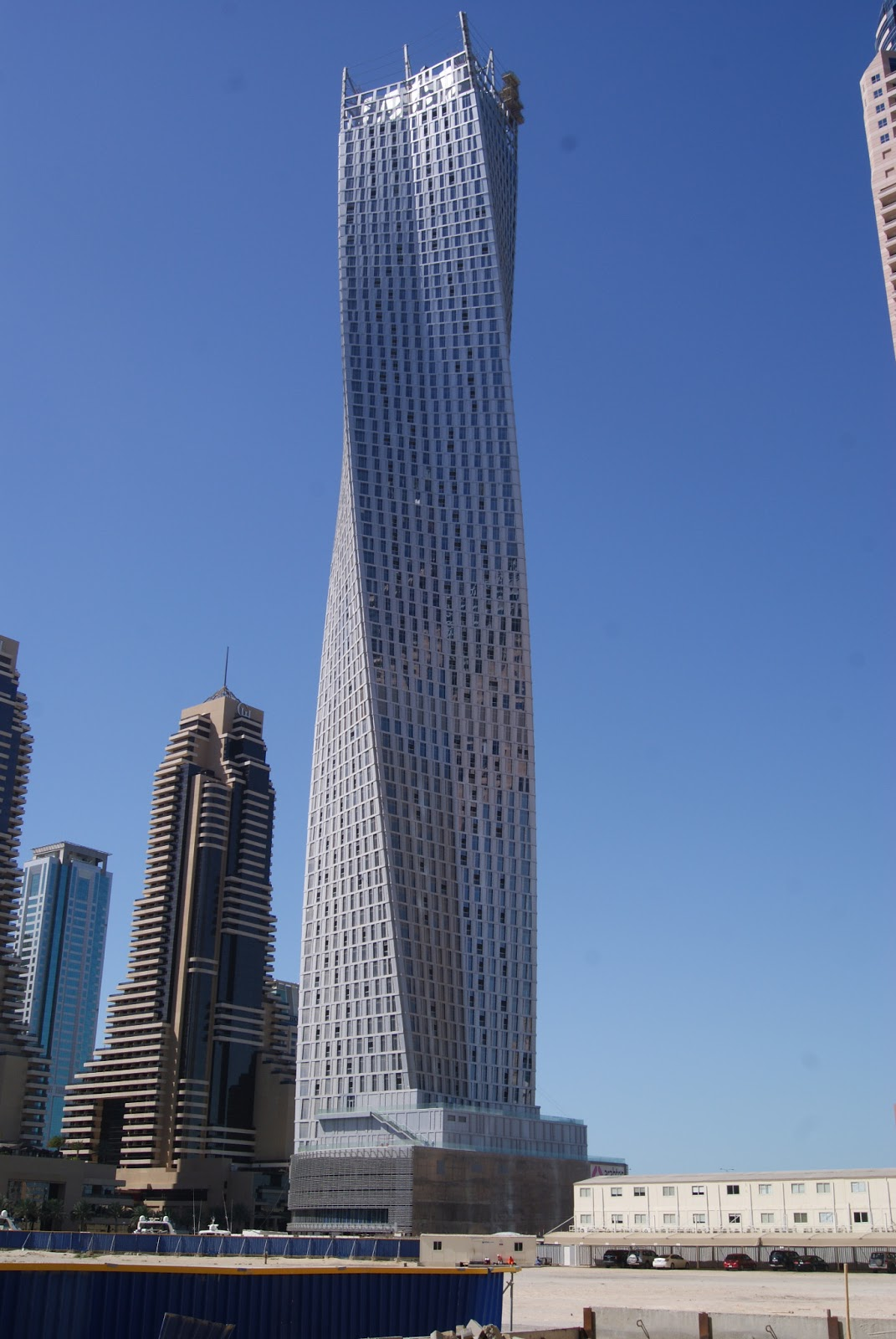 Laticrete conversations infinity tower Dubai buildings