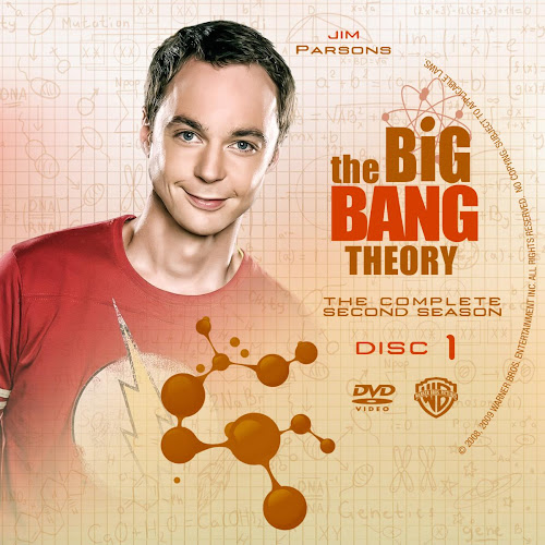 Label DVD The Big Band Theory The Complete Second Season
