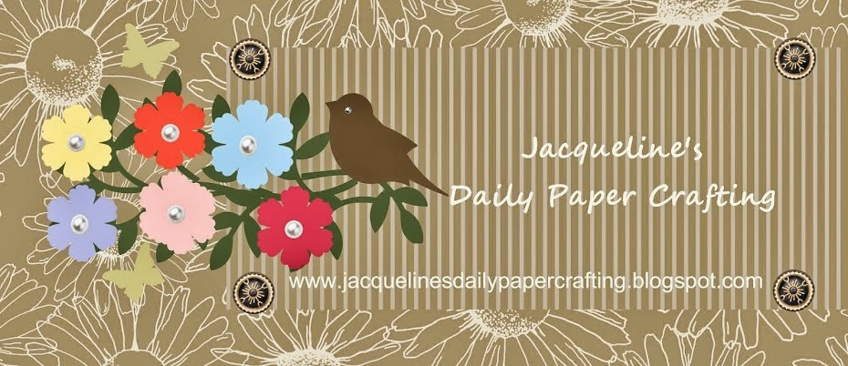 Jacqueline's Daily Paper Crafting