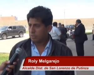 ROLY SANTOS MELGAREJO ALCALDE DISTRITAL