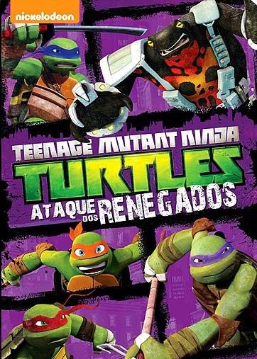Download - Teenage Mutant Ninja Turtles - Ataque Dos Renegados Vol.3 (2015)