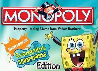Game Monopoly Sponge Bob